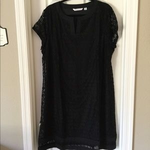 Black lace dress, NEW